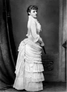 Photo of Edith Wharton, c. 1870s