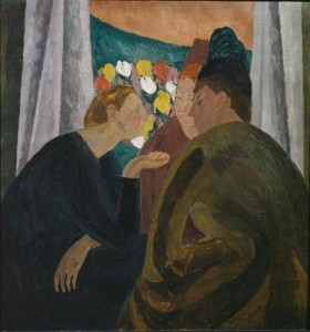 Vanessa Bell, Conversation, 1916, Tate Modern, London [Public Domain] via Wikiart.org