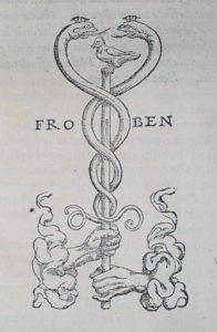 Johann Froben, The Printer's Symbol